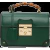 Gucci Green Padlock Bag - Hand bag -