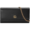 Gucci Leather Wallet on a Chain - Clutch bags -