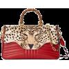 Gucci Leopard print top handle bag - Hand bag -