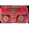Gucci Mini Velvet Shoulder Bag - Torbice -