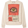 Gucci Printed Cotton Sweatshirt - Maglioni -