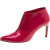 Gucci Red Pink Patent Leather boots - Сопоги -