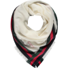 Gucci Scarf ivory red - Scarf - $738.51