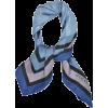 Gucci Silk Scarf Navy Blue - Cachecol -