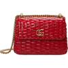Gucci Small Linea Cestino Glazed Wicker - Hand bag -