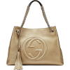 Gucci Soho Metallic Chain Medium Tote - 手提包 -