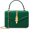 Gucci Sylvie 1969 patent leather mini to - Hand bag -