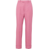 Gucci Twill Straight-leg Pants - Capri & Cropped -