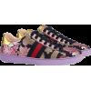 Gucci Women's Ace Brocade Low-top Sneake - Tenisówki -