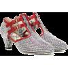 Gucci crystal embellished pump red trim - Классическая обувь - $1,890.00  ~ 1,623.29€