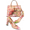 Gucci floral shoes and bag - Hand bag -