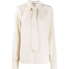 Gucci neck tie blouse - Camisas manga larga -