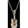 Guitar Necklace #musician #guitarist - Necklaces - $40.00