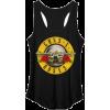 Guns N' Roses Distressed Bullet Logo  - Tanks - $32.00