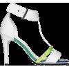 H&M Sandals White - Sandálias -