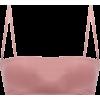 HAIGHT  Marcella bandeau bikini top - Kostiumy kąpielowe -