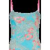 HALPERN floral print bustier - Shirts -