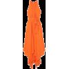 HALSTON HERITAGE Tie-front georgette mid - Dresses - $395.00