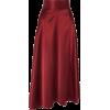 HARMURSilk-satin wrap midi skirt - Skirts - £225.00