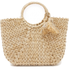 HAT ATTACK straw bag - Hand bag -