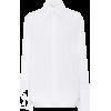 HELMUT LANG Coated-collar cotton shirt - 長袖シャツ・ブラウス -