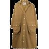HENRIK VIBSKOK yellow brown coat - Jacket - coats -