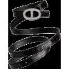 HERMES Belt Black - Cinturones -