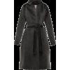 HERNO Manteau imitation fourrure à ceint - Jacket - coats -