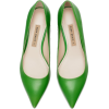 HIGH-HEEL LEATHER COURT SHOES - Classic shoes & Pumps -