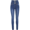 HIGH WAIST JEANS - Jeans -