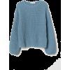H&M Blue Sweater - Puloveri -
