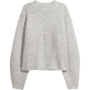 H&M Grey Sweater - Pullovers -