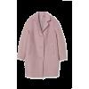 H&M Pink Coat - Kurtka -