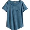 H&M blue t shirt - T恤 -