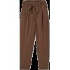 H&M brown trousers - Capri hlače -
