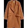 H&M classic brown coat - Jacket - coats -