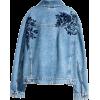 H&M embroidered denim jacket - Jeans -