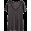 H&M grey T shirt - T-shirts -