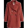 H&M orange coat - Jakne in plašči -