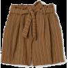 H&M paperbag shorts - Shorts -