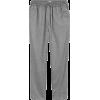H&M pinstripe grey trousers - Pantalones Capri -