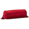 H&M red velvet Cylindrical cushion - Arredamento -