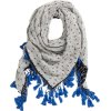 H&M scarf in grey and blue - Šali -