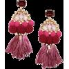 HM tasseled earrings - 耳环 -