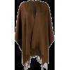 HOLLAND & HOLLAND poncho-style cape coat - Jacket - coats -