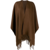 HOLLAND & HOLLAND poncho-style cape coat - Kurtka -