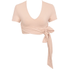HOUSE OF CB tie wraped ballet top - Cardigan -