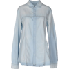 HUDSON Denim Shirt Blue Women Jeans - Long sleeves shirts -