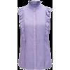 HUGO BOSS Sleeveless ruffle blouse - Shirts -