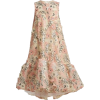 HUISAN ZHANG peach floral embroidered - Vestiti -